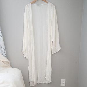 White Forever 21 Kimono